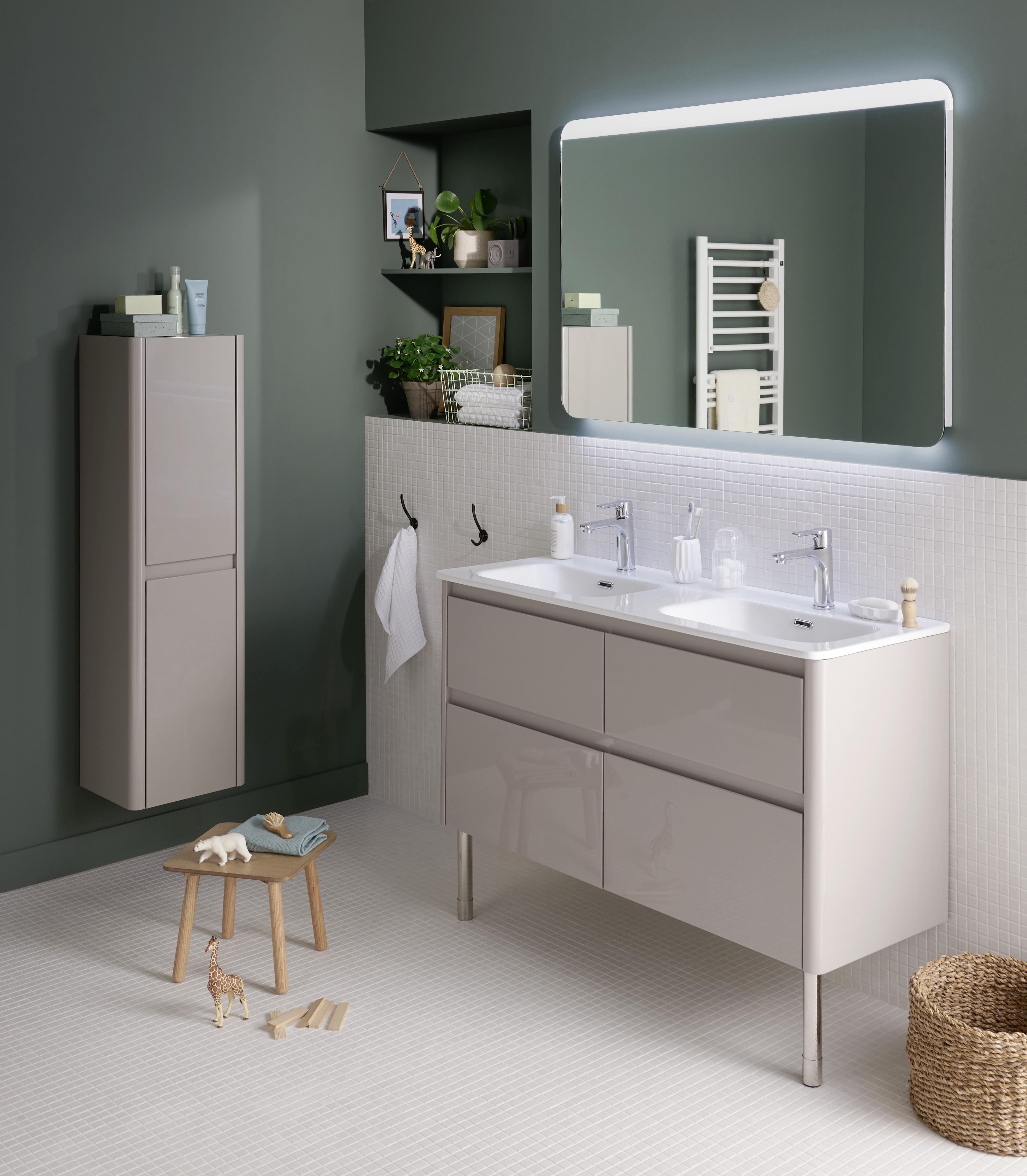 LAPEYRE Meuble de salle de bains Arronde - Lapeyre Presse