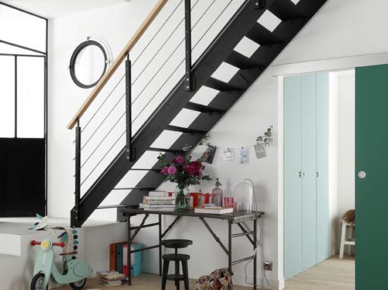 LAPEYRE - Escalier métal