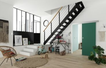 Escalier-metal