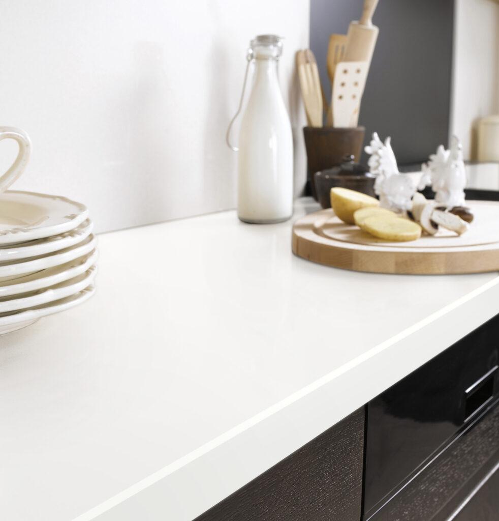 201515275 lapeyre plan de travail quartz coloris blanc. Black Bedroom Furniture Sets. Home Design Ideas