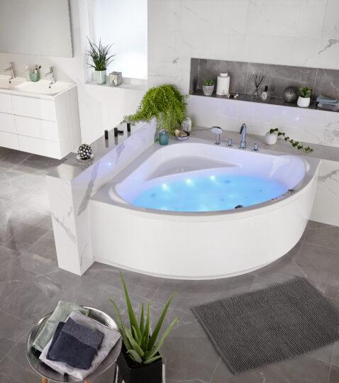 baignoire ilot lapeyre baignoire en douche par collection. Black Bedroom Furniture Sets. Home Design Ideas
