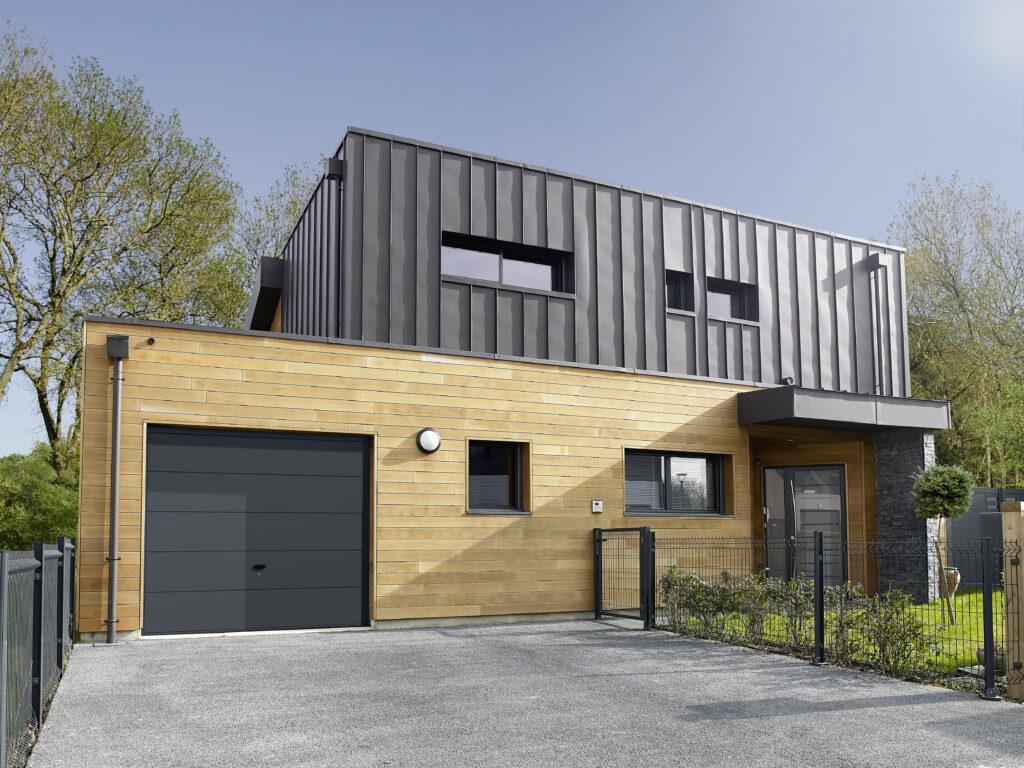 201618659 lapeyre porte de garage basculante acier ottawa. Black Bedroom Furniture Sets. Home Design Ideas