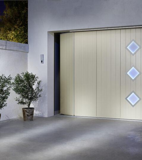 Lapeyre porte de garage les portes de garage pliantes - Lapeyre porte de garage ...
