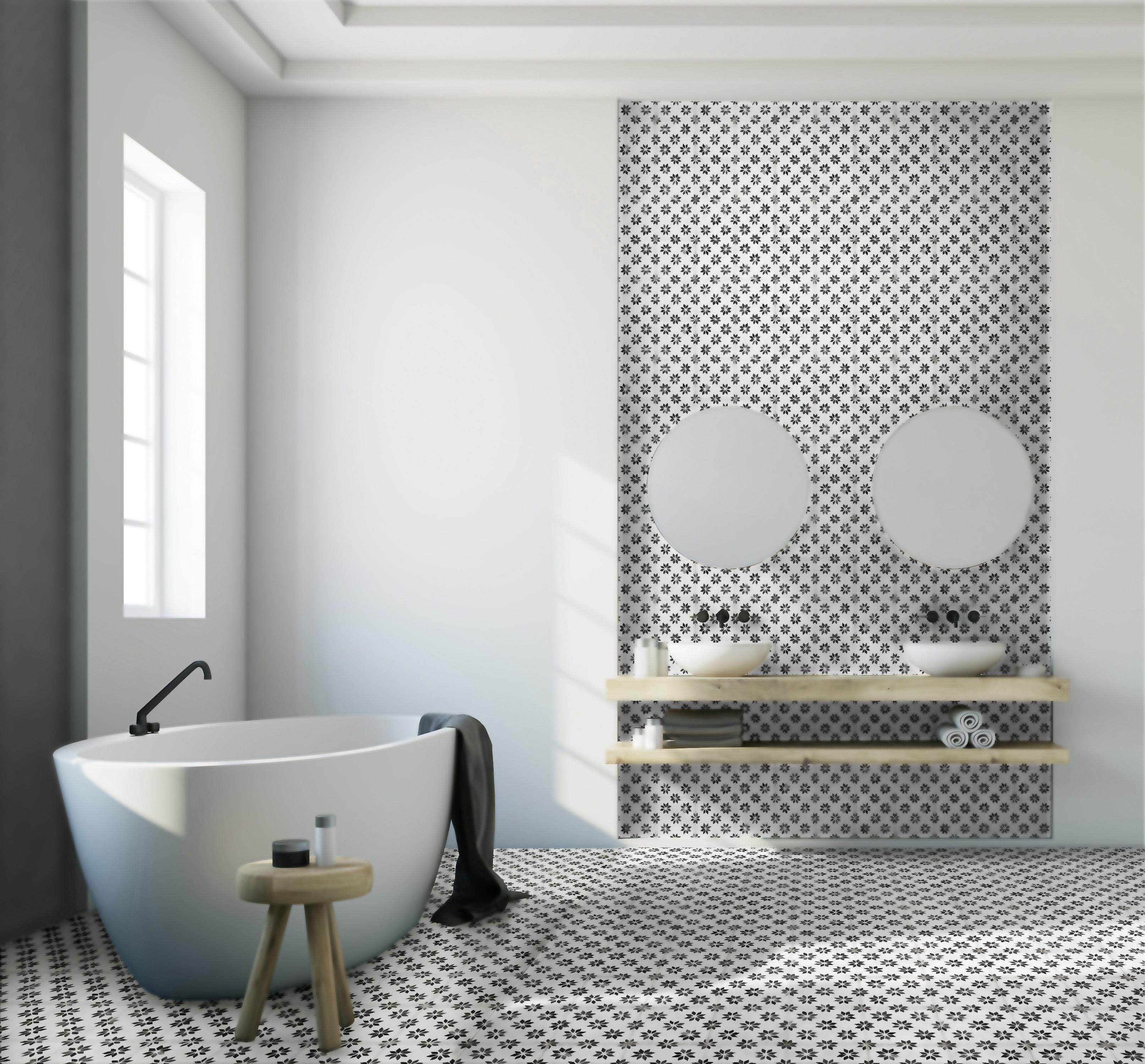 19 LAPEYRE Carrelage de salle de bains Héra bd - Lapeyre Presse